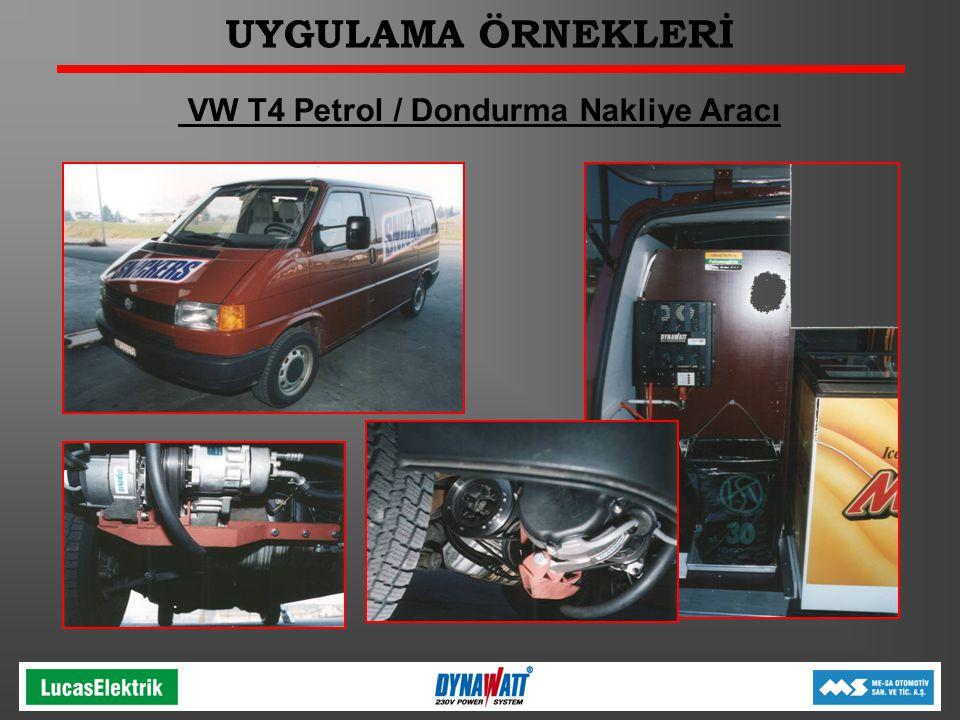 VW T4 Petrol / Dondurma Nakliye Aracı
