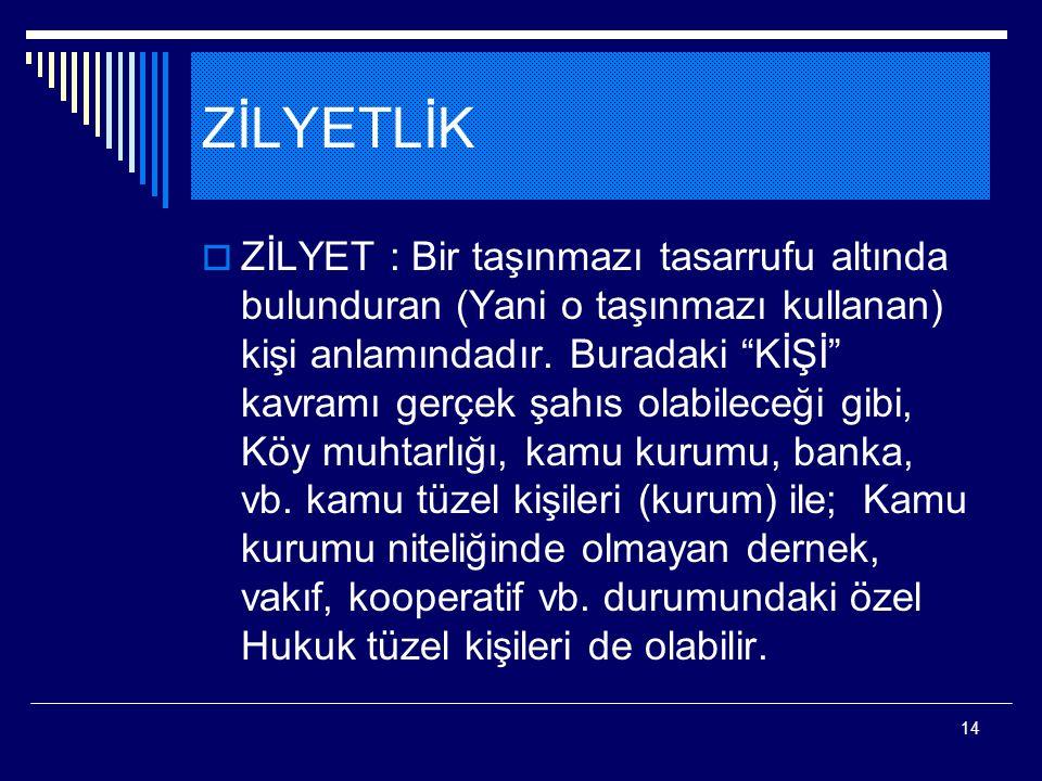 ZİLYETLİK