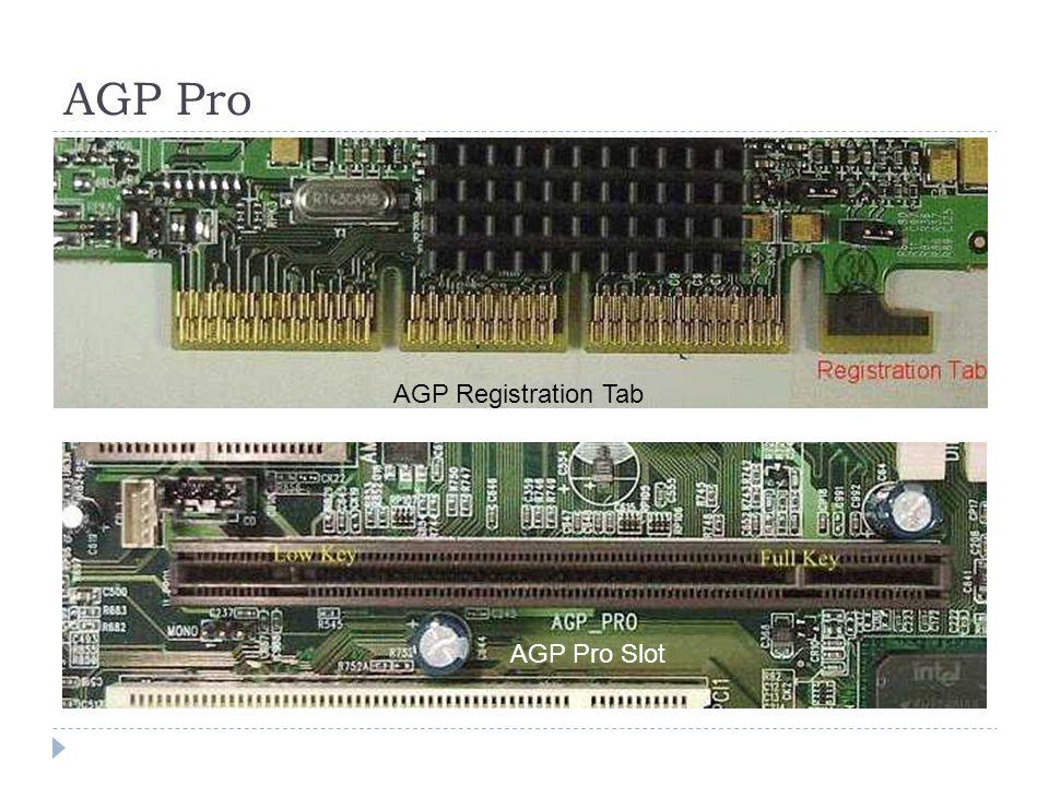 Slot agp pro