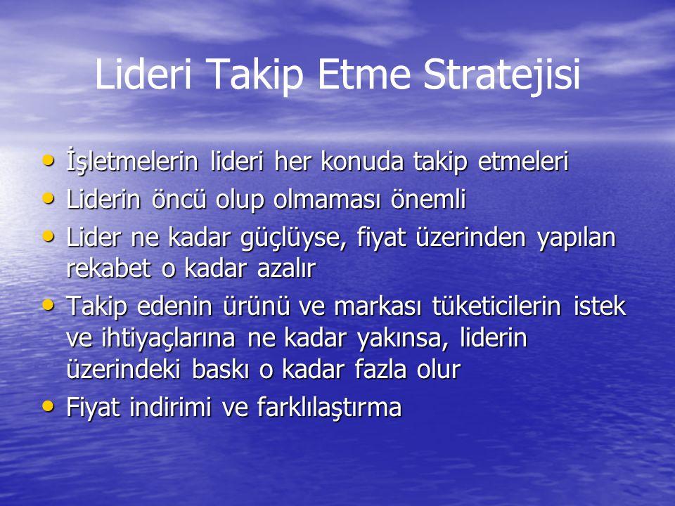 Lideri Takip Etme Stratejisi