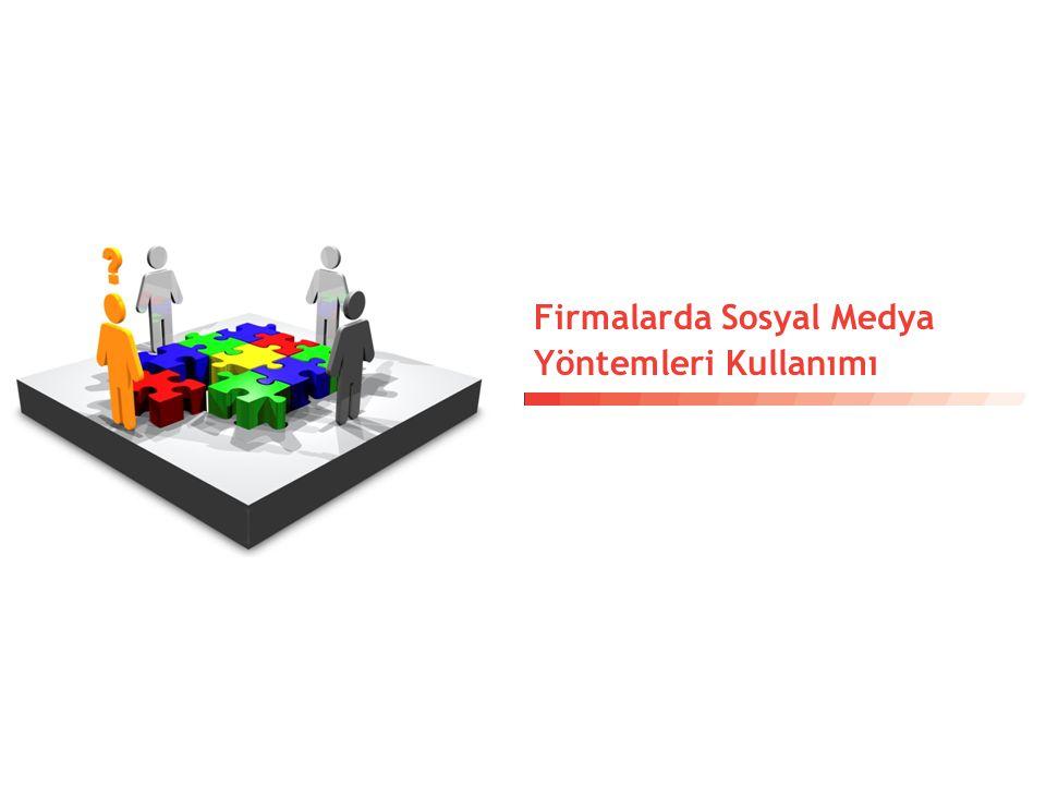 Firmalarda Sosyal Medya Yöntemleri Kullanımı
