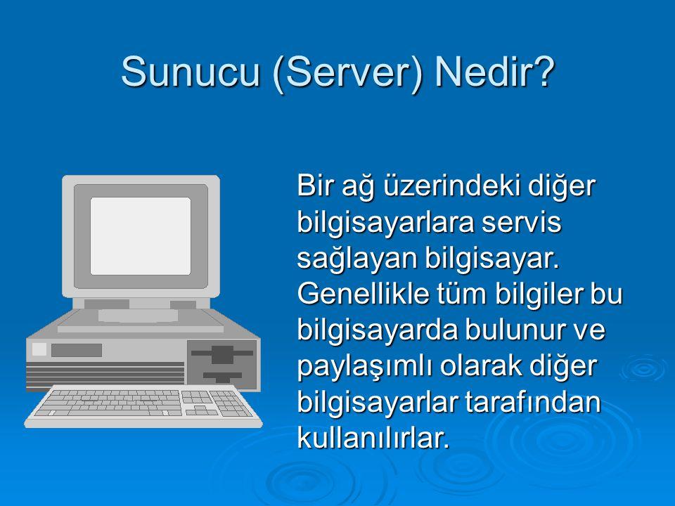Sunucu (Server) Nedir