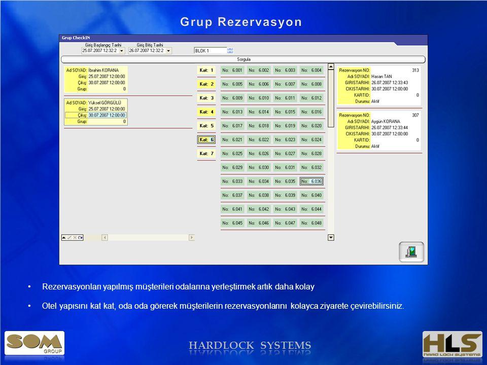 Grup Rezervasyon HARDLOCK SYSTEMS