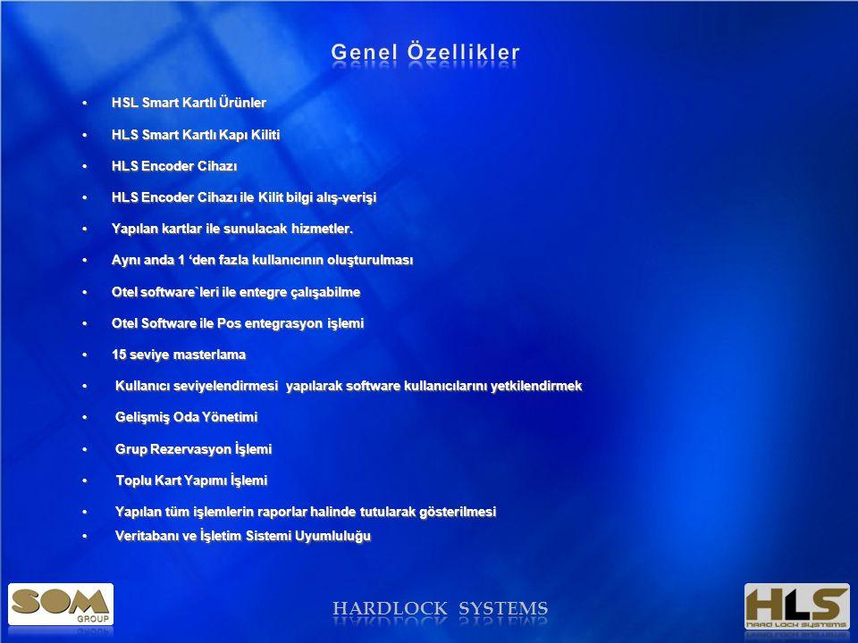 HARDLOCK OTEL KART YÖNETİM SİSTEMİ
