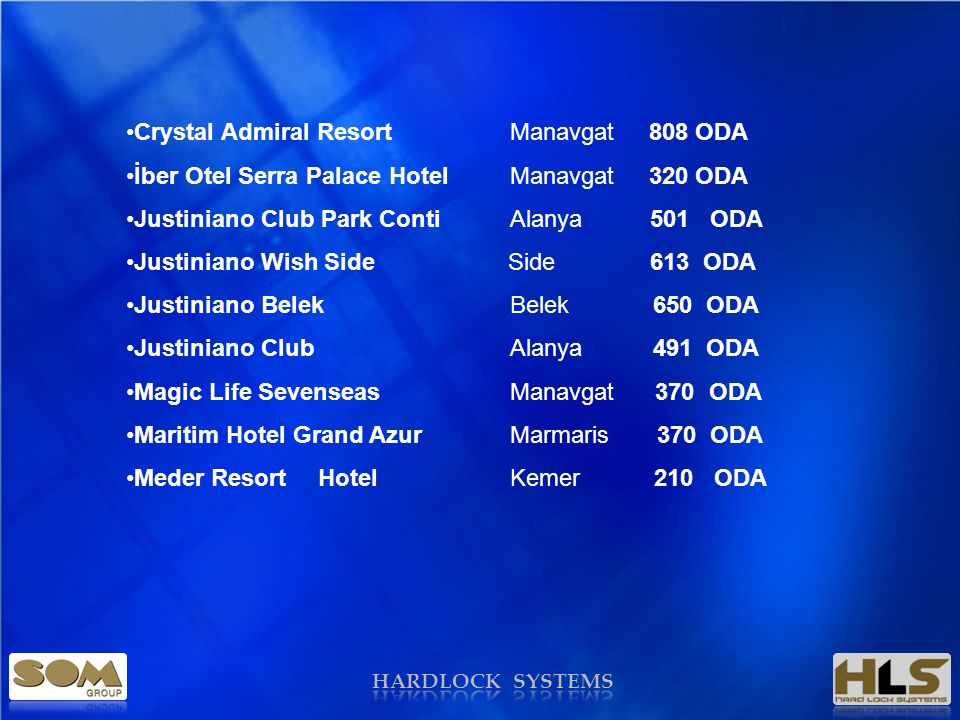 Crystal Admiral Resort Manavgat 808 ODA