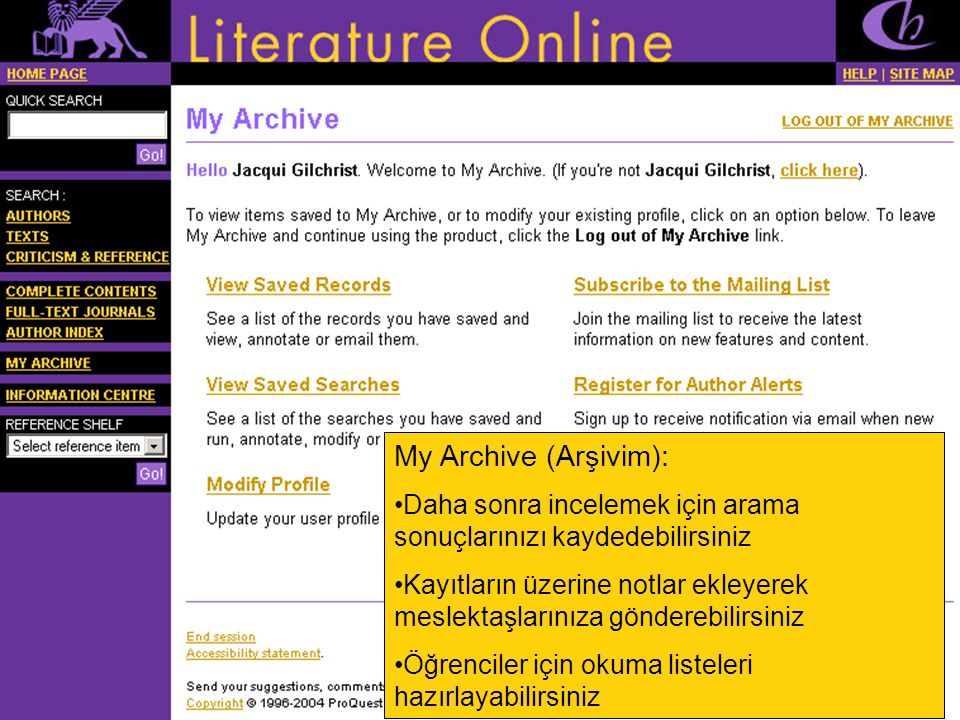 Asd My Archive (Arşivim):
