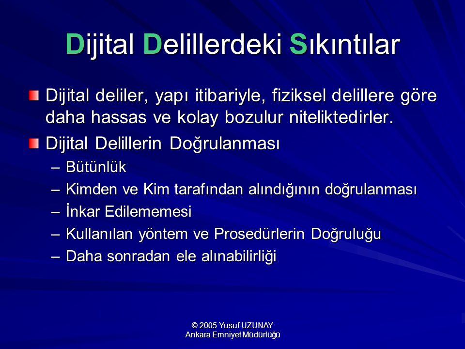 Dijital Delillerdeki Sıkıntılar