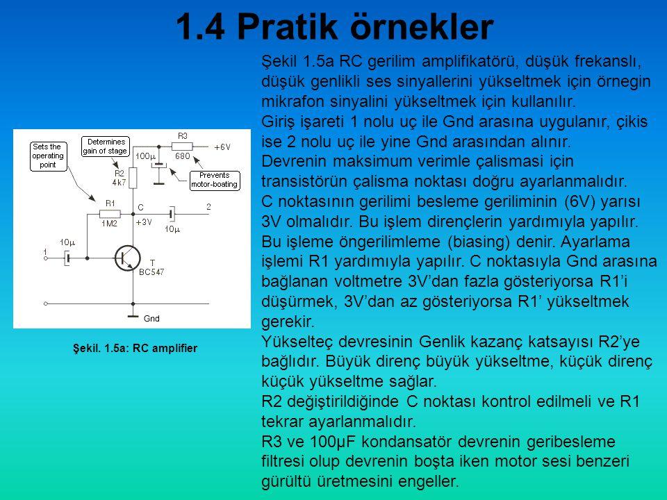 1.4 Pratik örnekler