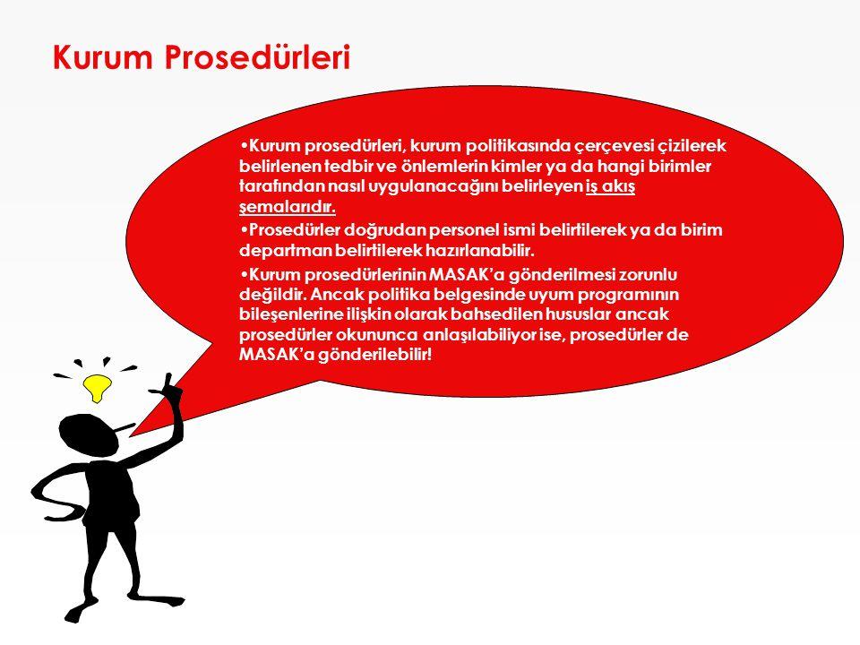 Kurum Prosedürleri