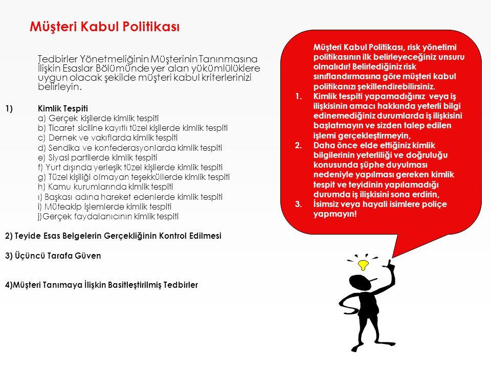 Müşteri Kabul Politikası