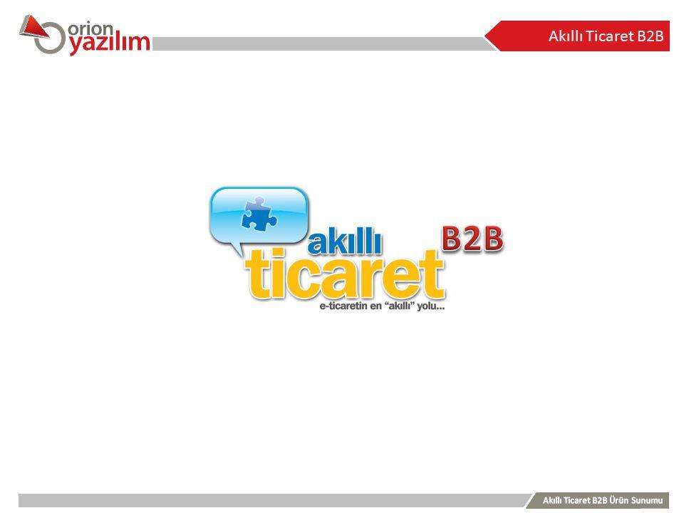 Akıllı Ticaret B2B B2B.
