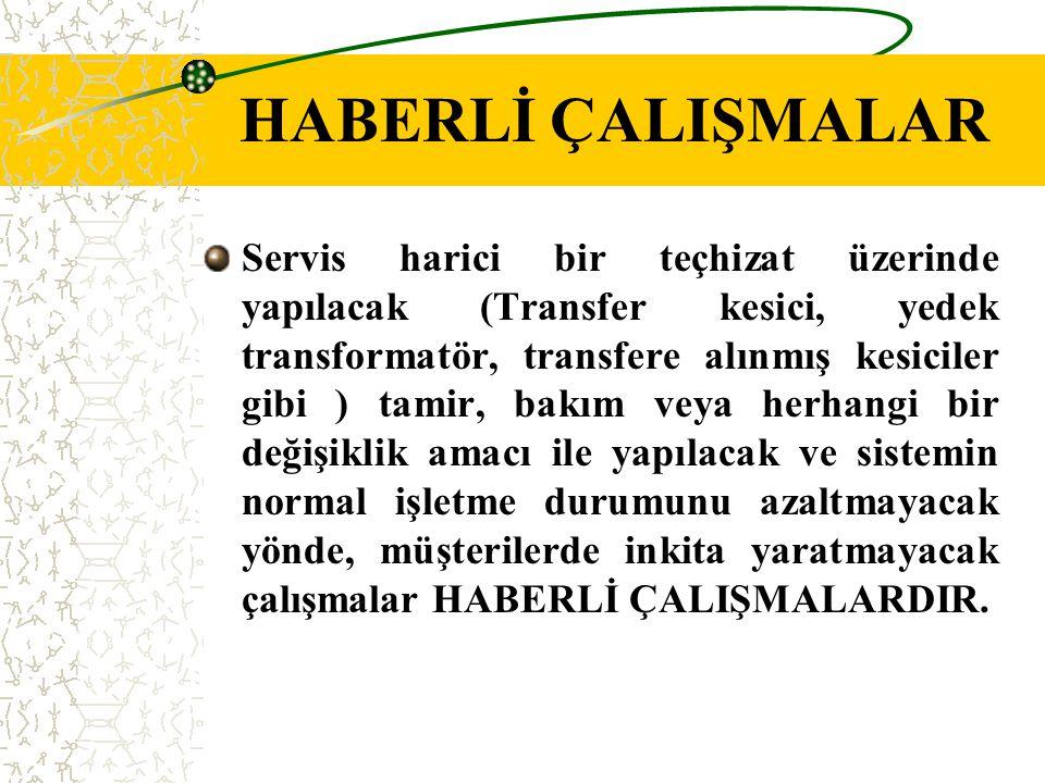 HABERLİ ÇALIŞMALAR