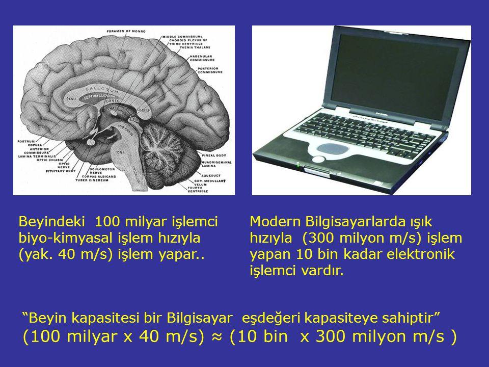 (100 milyar x 40 m/s) ≈ (10 bin x 300 milyon m/s )