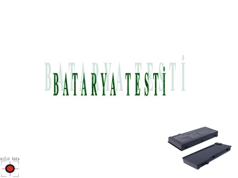 BATARYA TESTİ