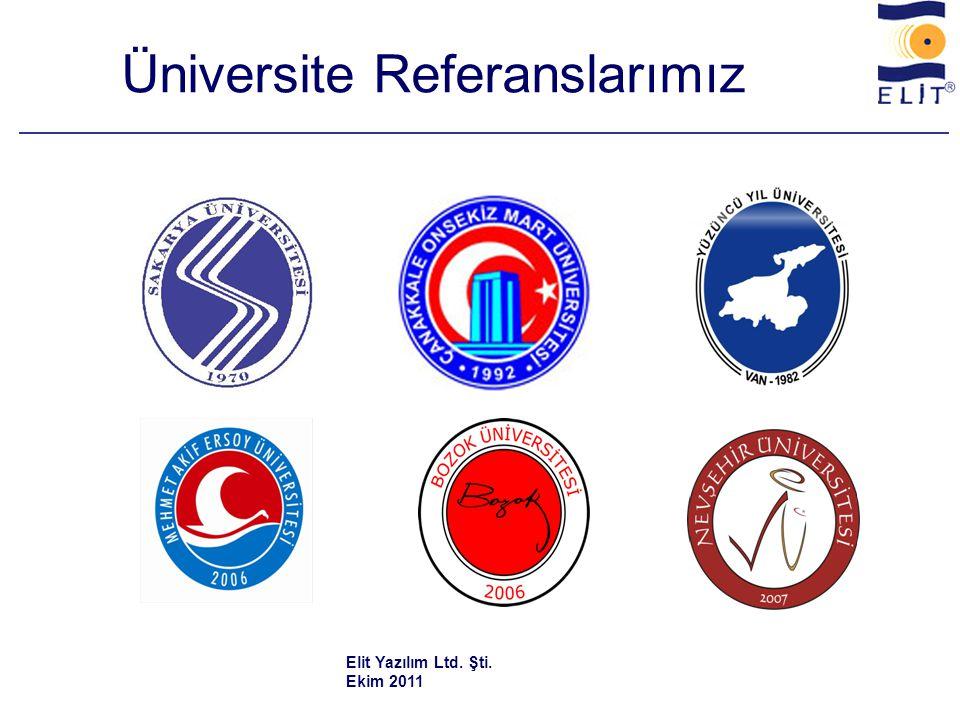 Üniversite Referanslarımız
