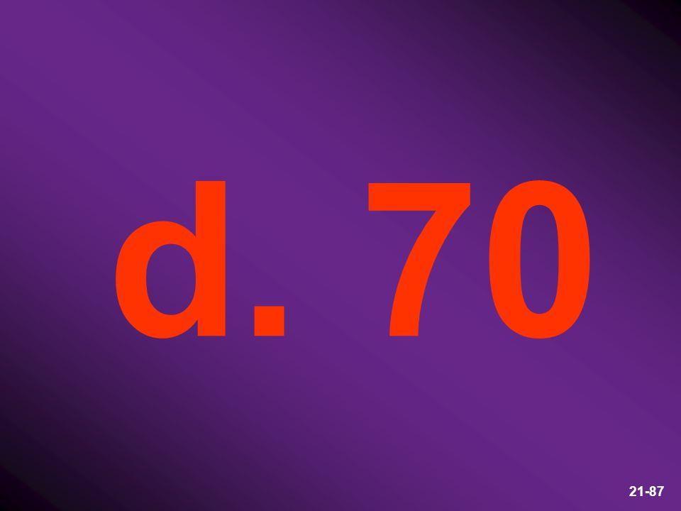 d. 70