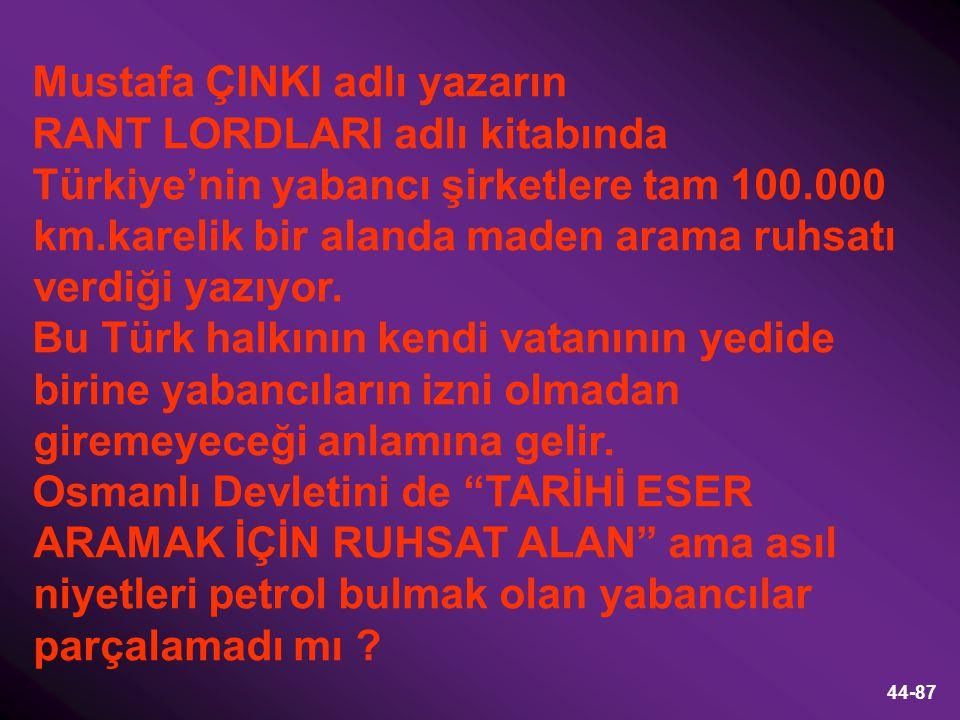 Mustafa ÇINKI adlı yazarın