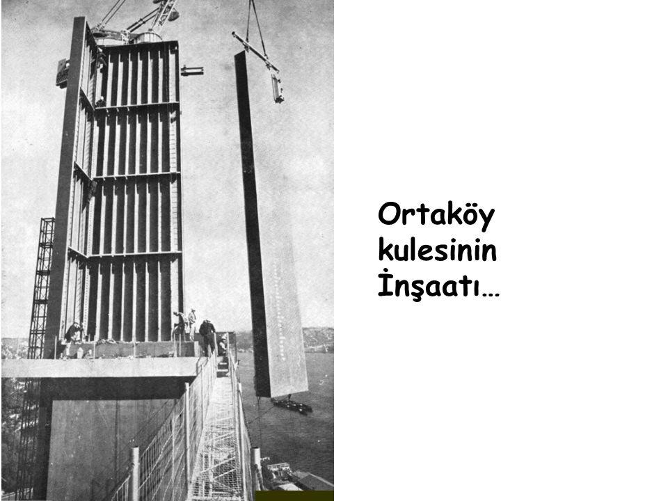 Ortaköy kulesinin İnşaatı…
