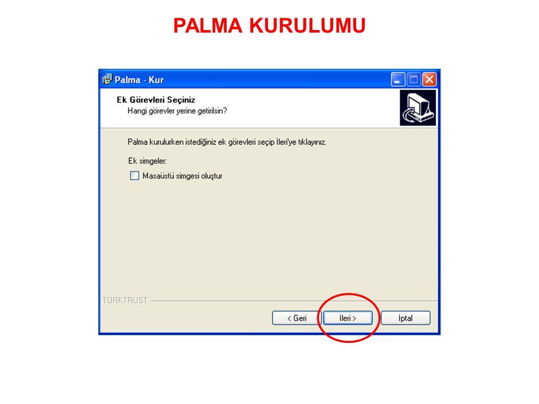 PALMA KURULUMU