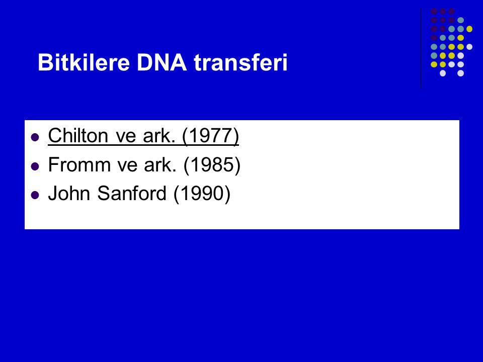 Bitkilere DNA transferi
