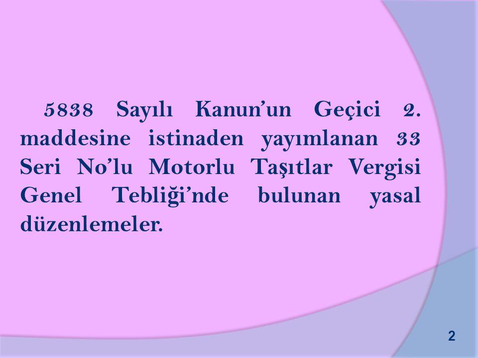5838 Sayılı Kanun'un Geçici 2