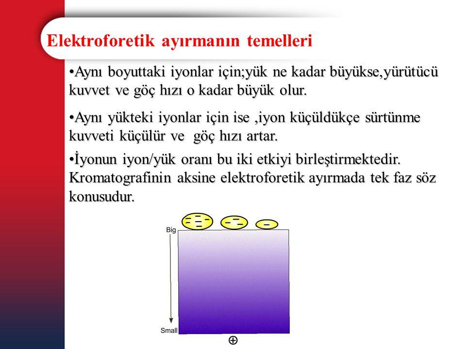Elektroforetik ayırmanın temelleri