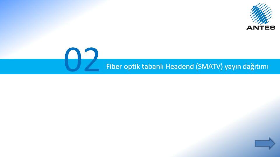 02 Fiber optik tabanlı Headend (SMATV) yayın dağıtımı