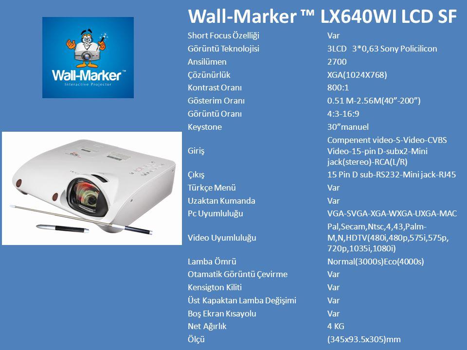 Wall-Marker ™ LX640WI LCD SF