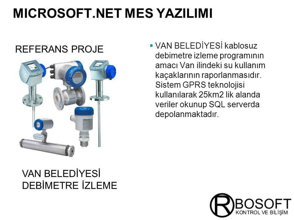 MICROSOFT.NET MES YAZILIMI