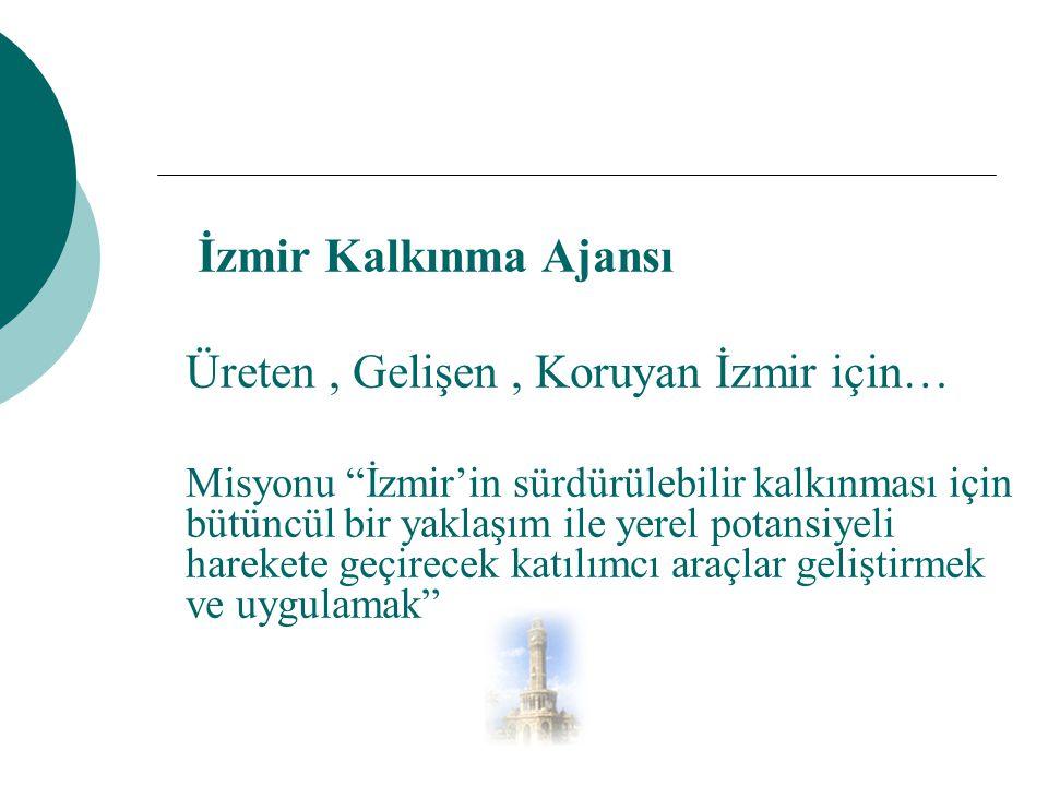 Üreten , Gelişen , Koruyan İzmir için…