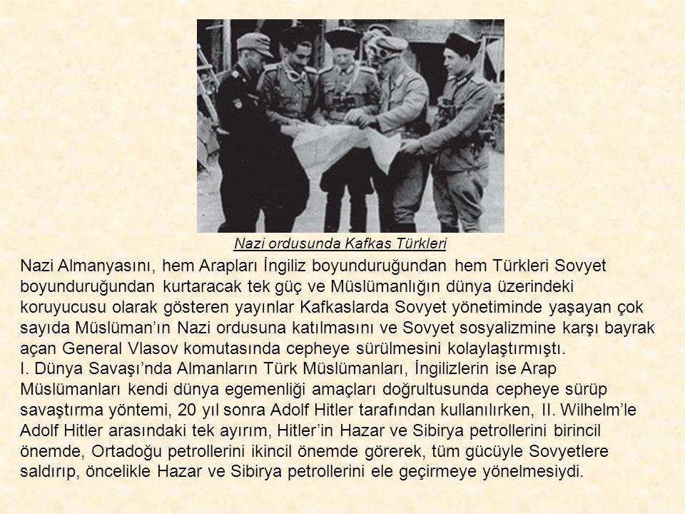 Nazi ordusunda Kafkas Türkleri