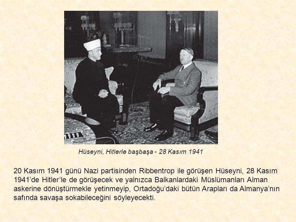Hüseyni, Hitlerle başbaşa - 28 Kasım 1941