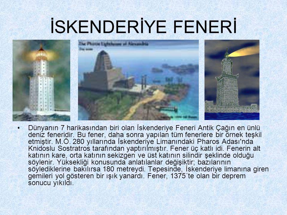 İSKENDERİYE FENERİ