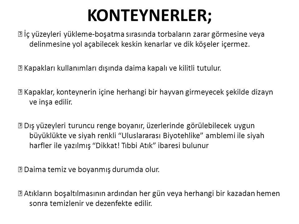 KONTEYNERLER;
