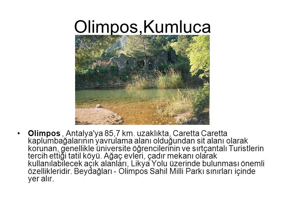 Olimpos,Kumluca