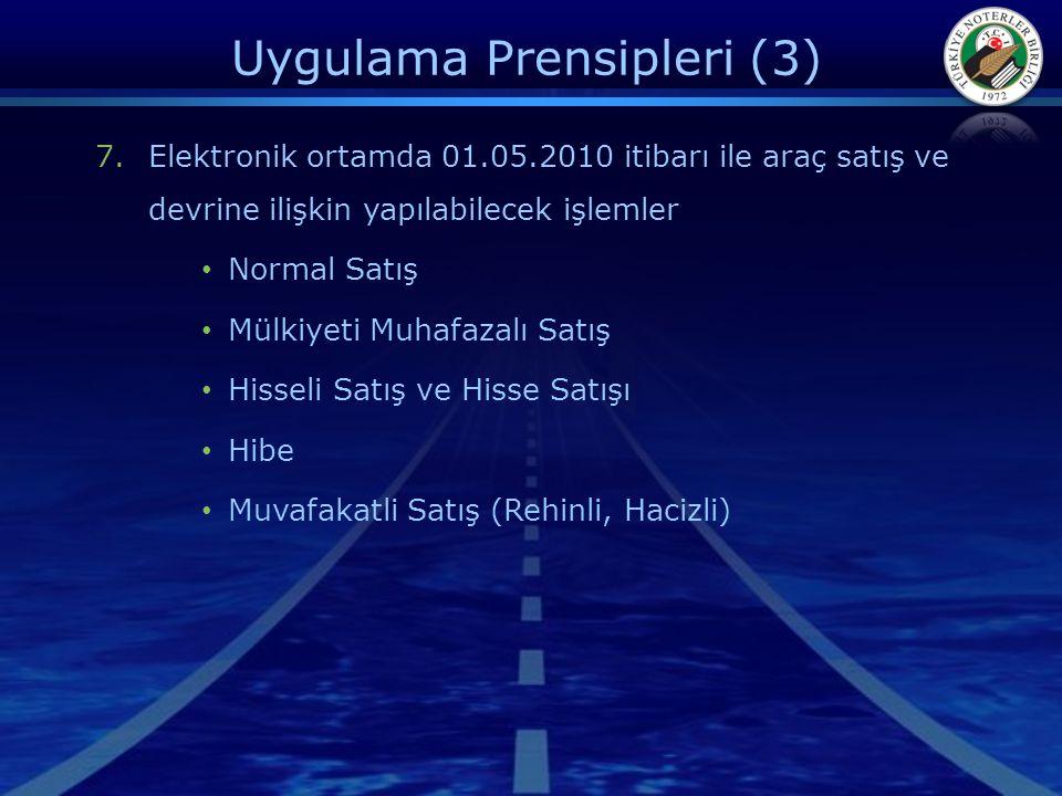 Uygulama Prensipleri (3)