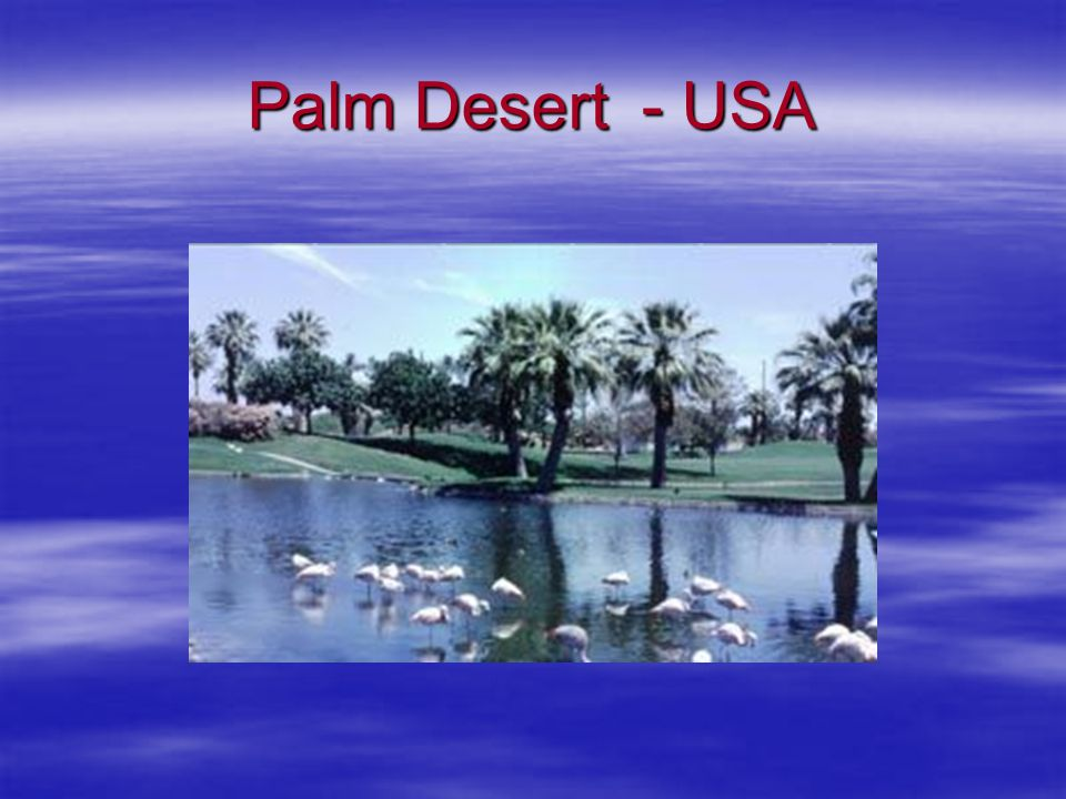 Palm Desert - USA