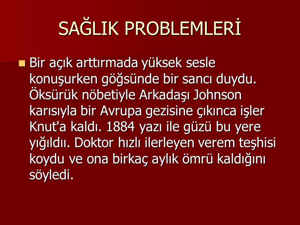 SAĞLIK PROBLEMLERİ