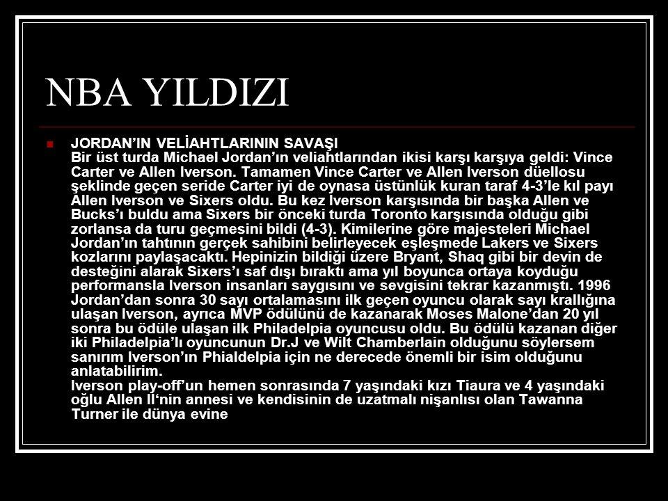 NBA YILDIZI