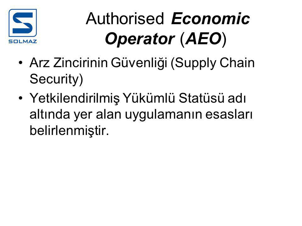 Authorised Economic Operator (AEO)