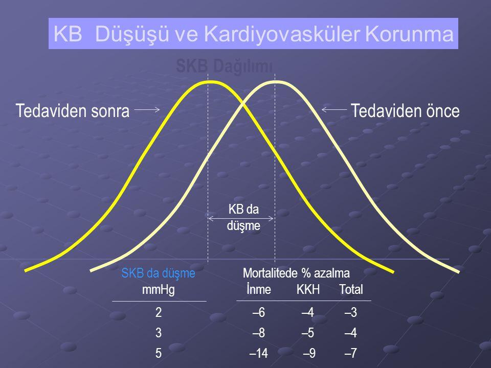KB Düşüşü ve Kardiyovasküler Korunma
