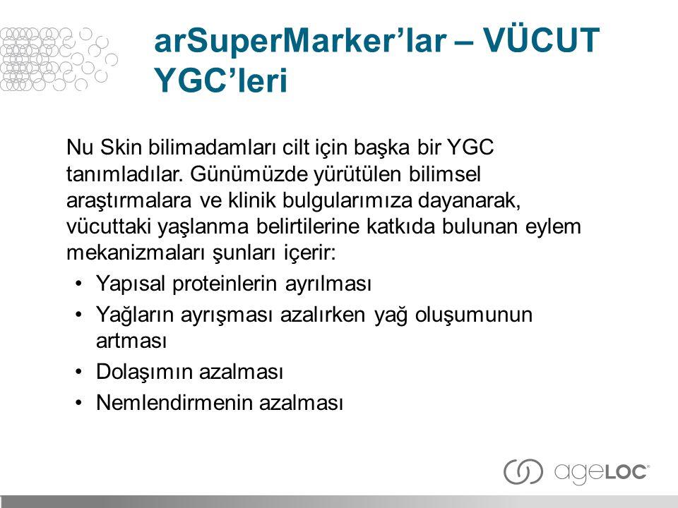 arSuperMarker'lar – VÜCUT YGC'leri