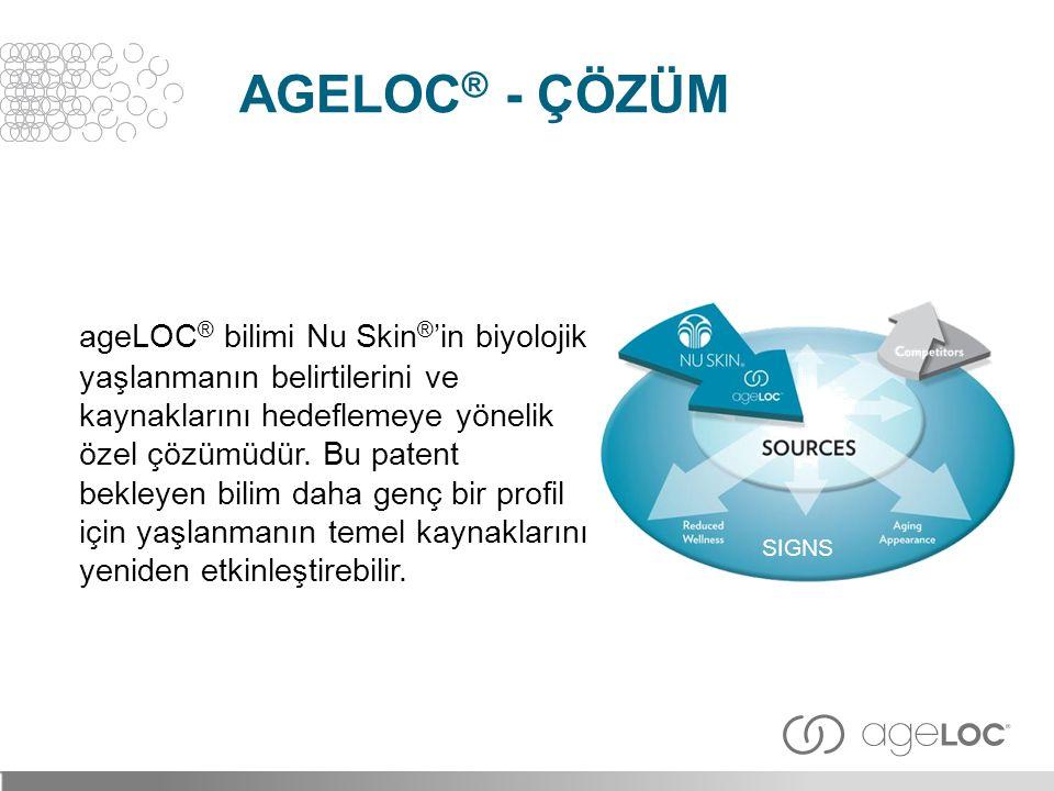 ageLOC® - çözüm