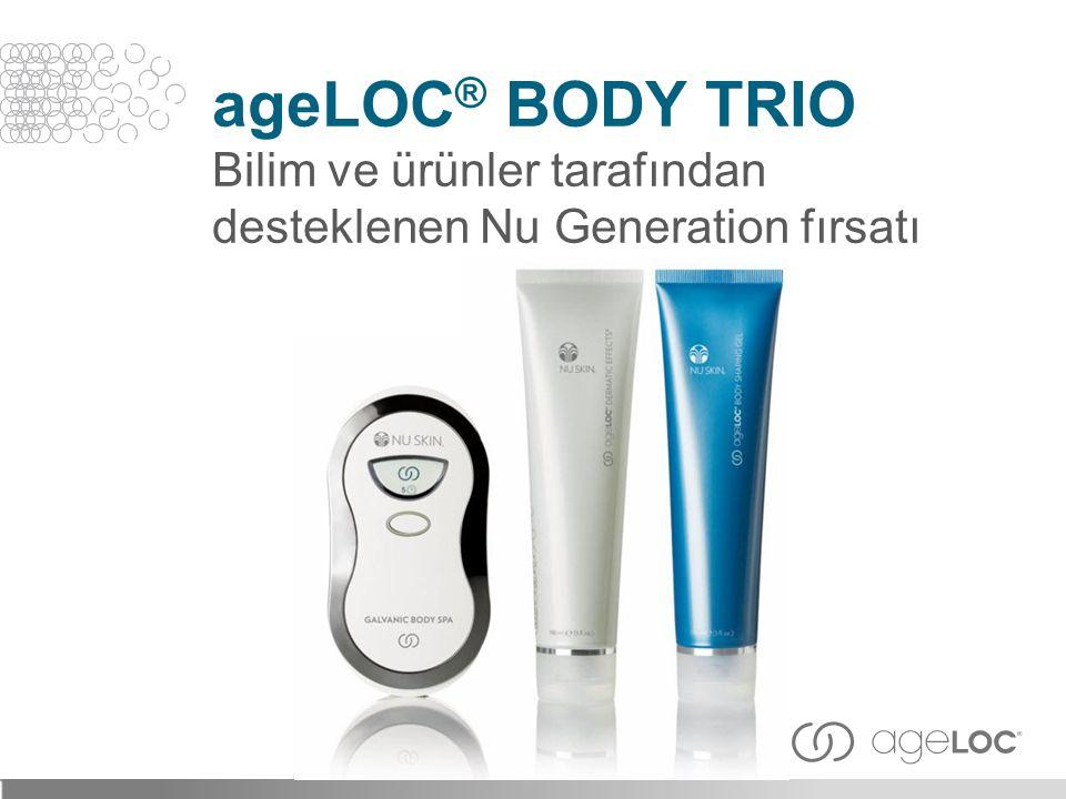 ageLOC® Body Trio Bilim ve ürünler tarafından desteklenen Nu Generation fırsatı