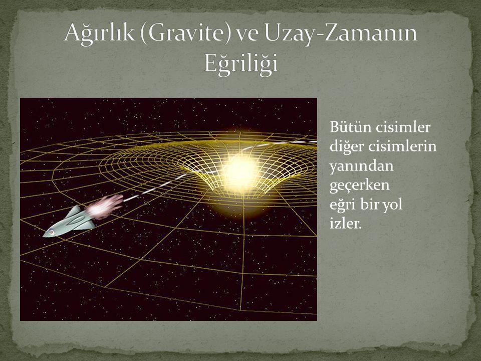 Ağırlık (Gravite) ve Uzay-Zamanın Eğriliği