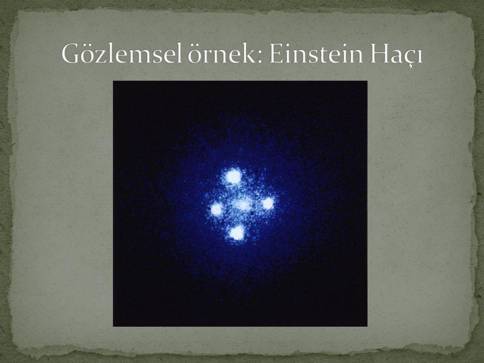 Gözlemsel örnek: Einstein Haçı