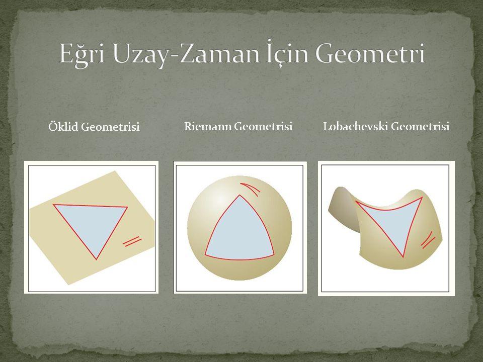 Eğri Uzay-Zaman İçin Geometri