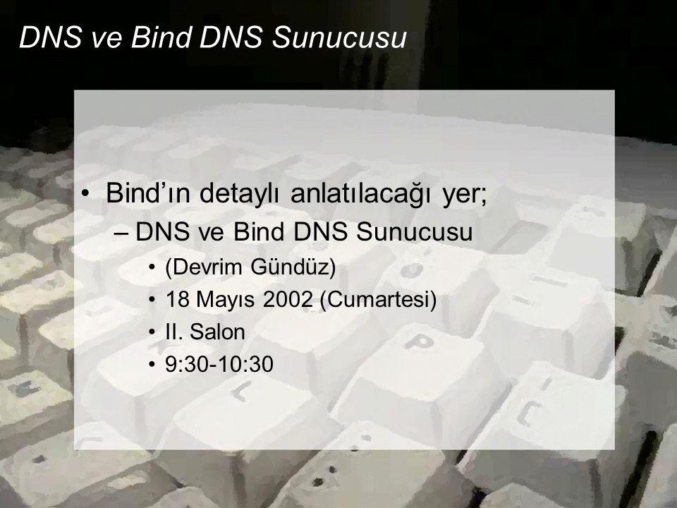 DNS ve Bind DNS Sunucusu