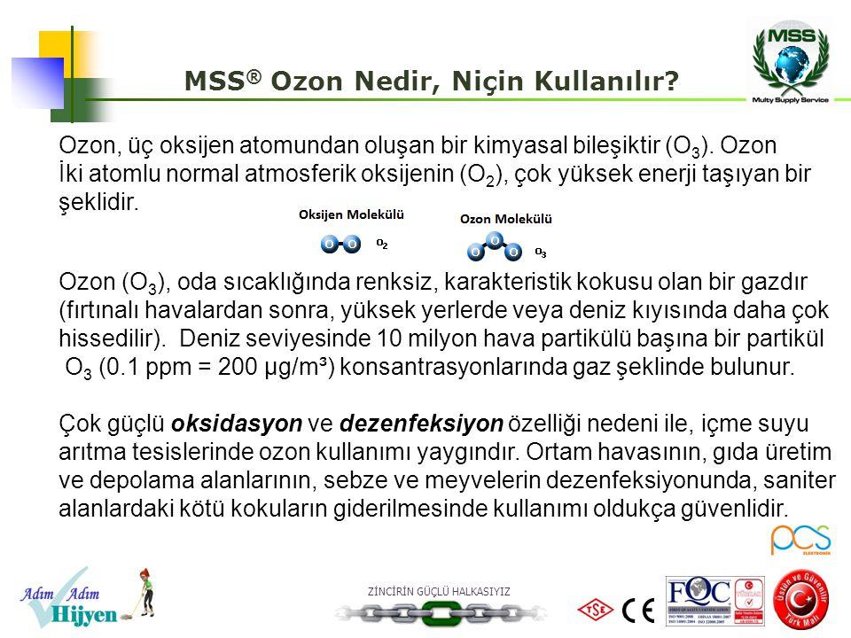 MSS® Ozon Nedir, Niçin Kullanılır