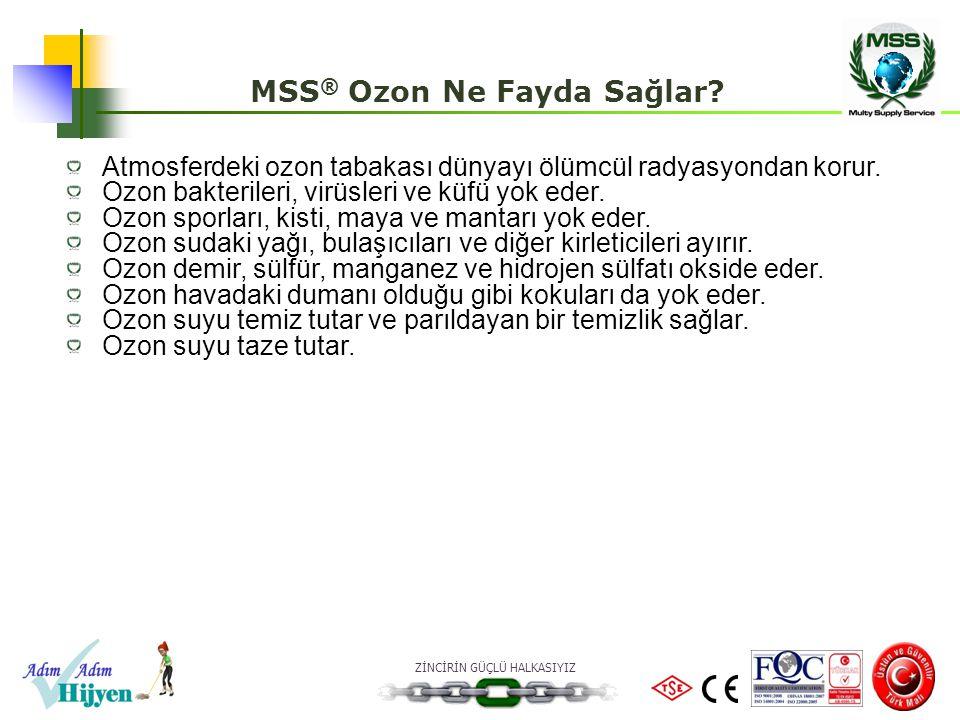 MSS® Ozon Ne Fayda Sağlar